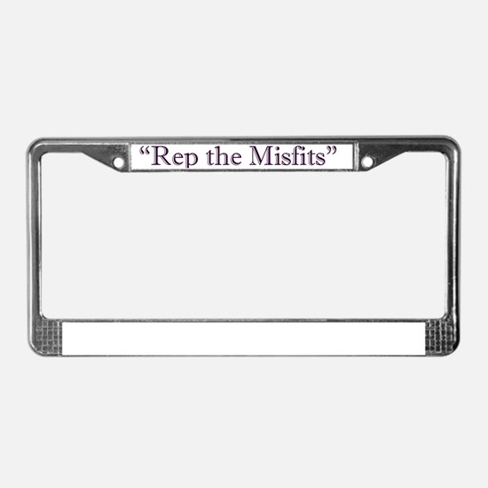 Rep the Misfits License Plate Frame