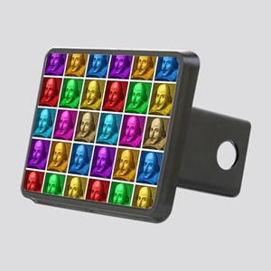 Pop Art Shakespeare Rectangular Hitch Cover