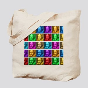 Pop Art Shakespeare Tote Bag