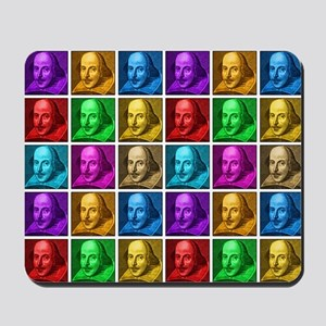 Pop Art Shakespeare Mousepad