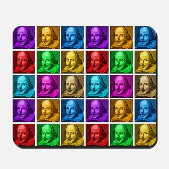 Pop Art Shakespeare Mousepad