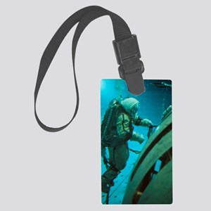 Cosmonaut in training tank at St Large Luggage Tag