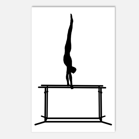 Gymnastic--Parallel-Bars- Postcards (Package of 8)