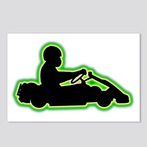 Go-Karting-AC Postcards (Package of 8)