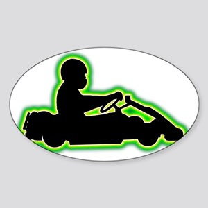 Go-Karting-AC Sticker (Oval)