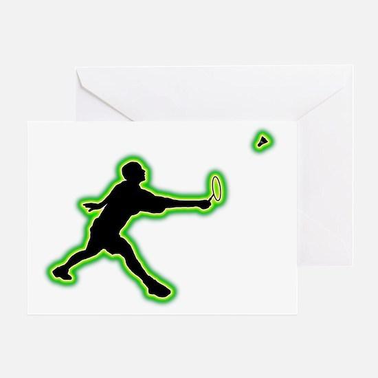 Badminton-AC Greeting Card
