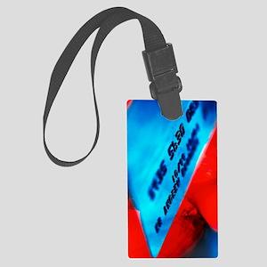 Credit card Large Luggage Tag