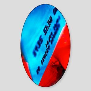 Credit card Sticker (Oval)