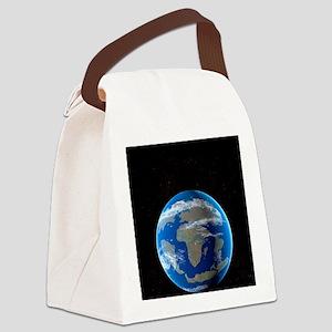Cretaceous Earth Canvas Lunch Bag