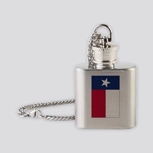 Texas Flag - TX Flask Necklace