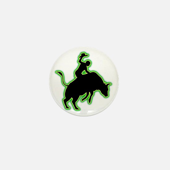 Bull-Riding-AC Mini Button