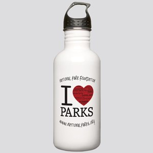 ornament i heart parks Stainless Water Bottle 1.0L