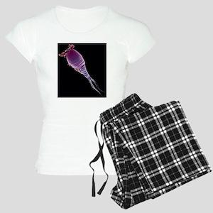 Cyclops sp. copepod, SEM Women's Light Pajamas