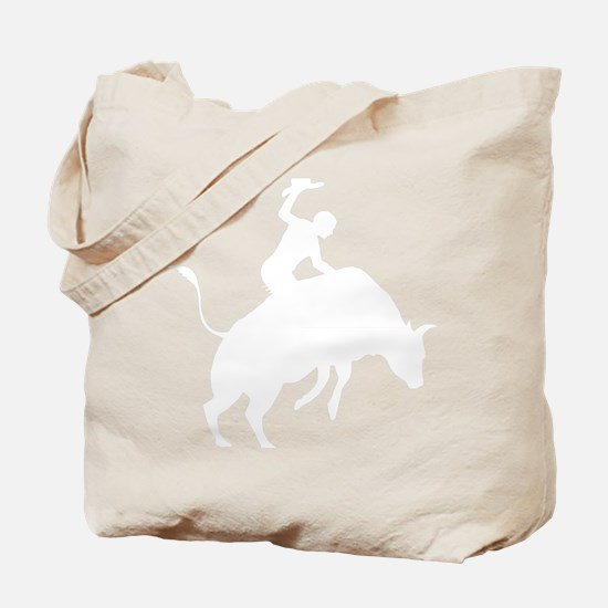 Bull-Riding-AB Tote Bag