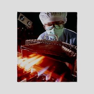 Drug manufacture: sealing injection  Throw Blanket