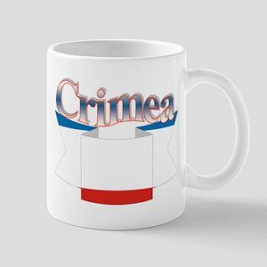 Crimean flag ribbon Mug
