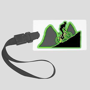 Mountain-Biking-AC Large Luggage Tag
