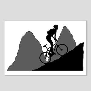 Mountain-Biking-AA Postcards (Package of 8)