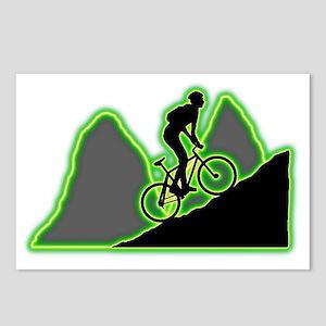 Mountain-Biking-AC Postcards (Package of 8)