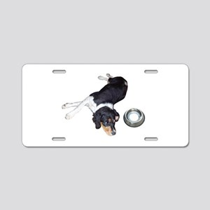 Hungry Dog Aluminum License Plate