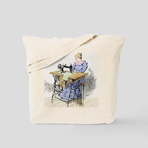 Electrical sewing machine, 1900 Tote Bag