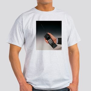 Early mobile phone Light T-Shirt