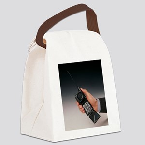 Early mobile phone Canvas Lunch Bag