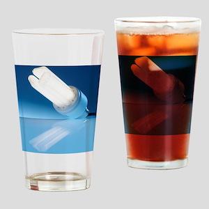 Energy-saving light bulb Drinking Glass