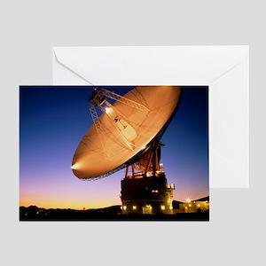 Diameter antenna of Goldstone satell Greeting Card
