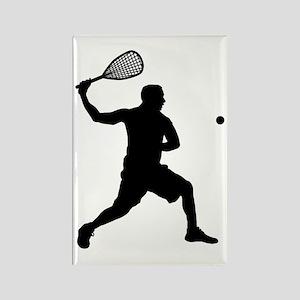 Squash-AA Rectangle Magnet