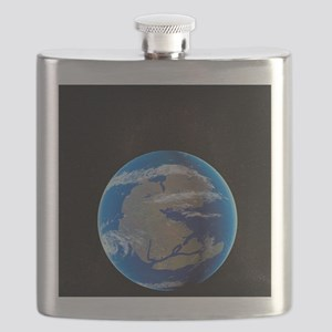 Earth at time of Pangea Flask