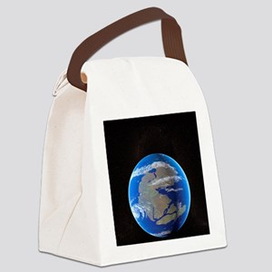 Earth at time of Pangea Canvas Lunch Bag