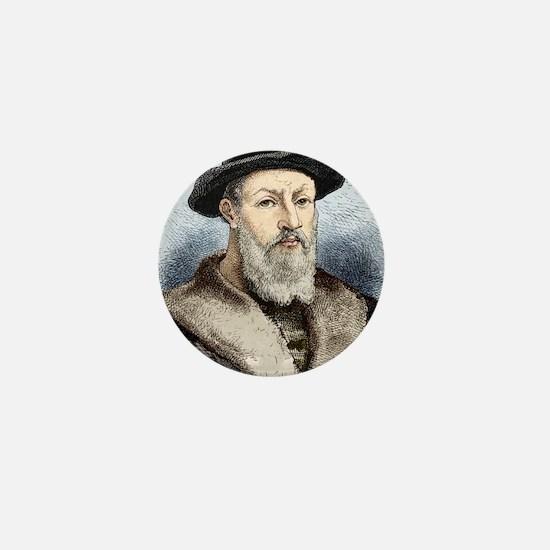 Ferdinand Magellan, Portuguese explore Mini Button