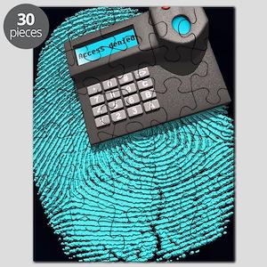 Fingerprint scanner Puzzle
