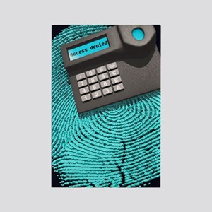 Fingerprint scanner Rectangle Magnet