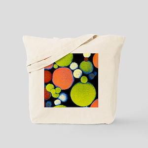 False colour SEM of Sephadex beads Tote Bag