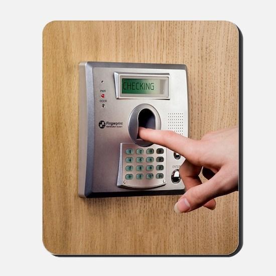 Fingerprint scanner Mousepad