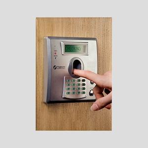 Fingerprint scanner Rectangle Magnet