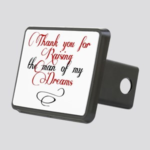 Man of my dreams Mother in Rectangular Hitch Cover