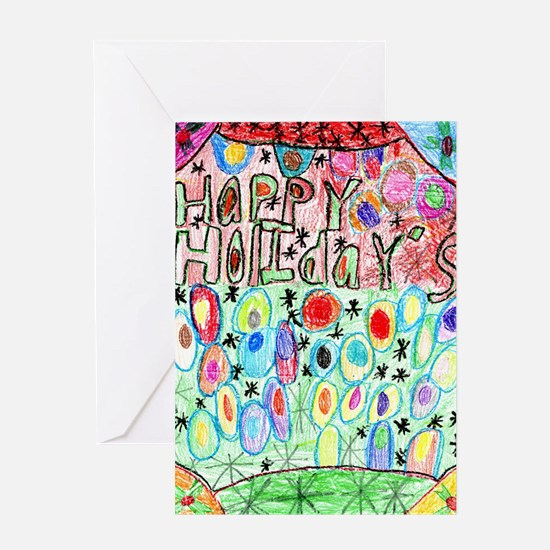 Happy Holidays from Crossroads for K Greeting Card
