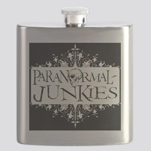 Paranormal-Junkies Logo Flask