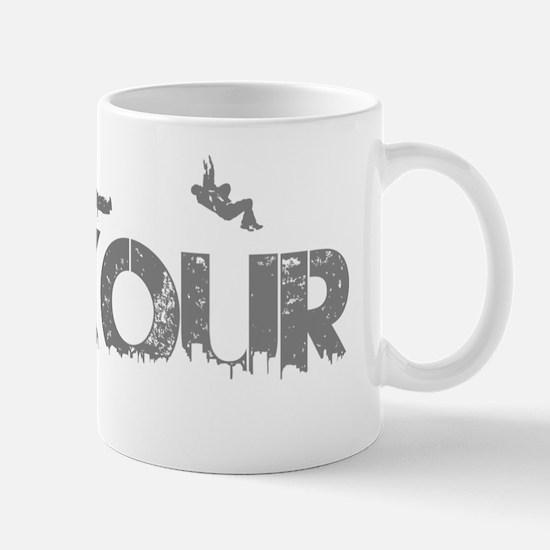 Parkour Crew, Grey, Mug
