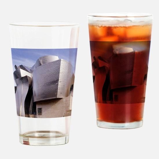 Guggenheim museum, Bilbao, Spain Drinking Glass
