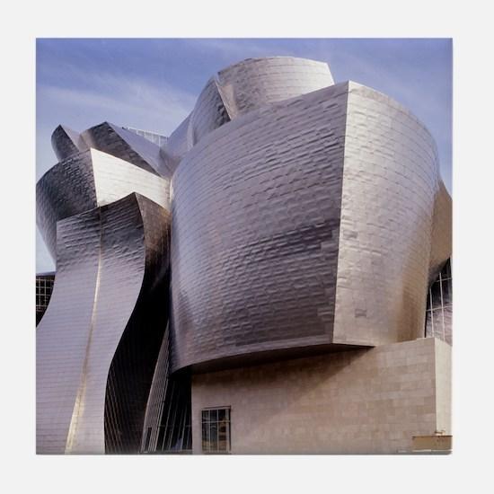 Guggenheim museum, Bilbao, Spain Tile Coaster