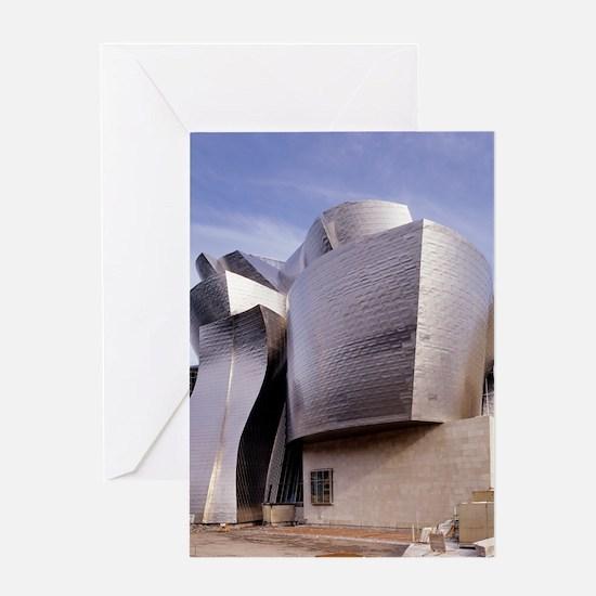 Guggenheim museum, Bilbao, Spain Greeting Card