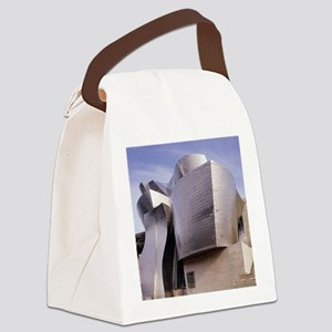 Guggenheim museum, Bilbao, Spain Canvas Lunch Bag