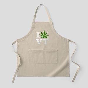 I Love Cannabis Vermont Apron