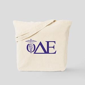 Phi Delta Epsilon Letters Tote Bag