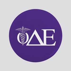 Phi Delta Epsilon Letters Button