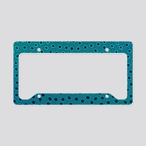 Light micrograph of monkey re License Plate Holder